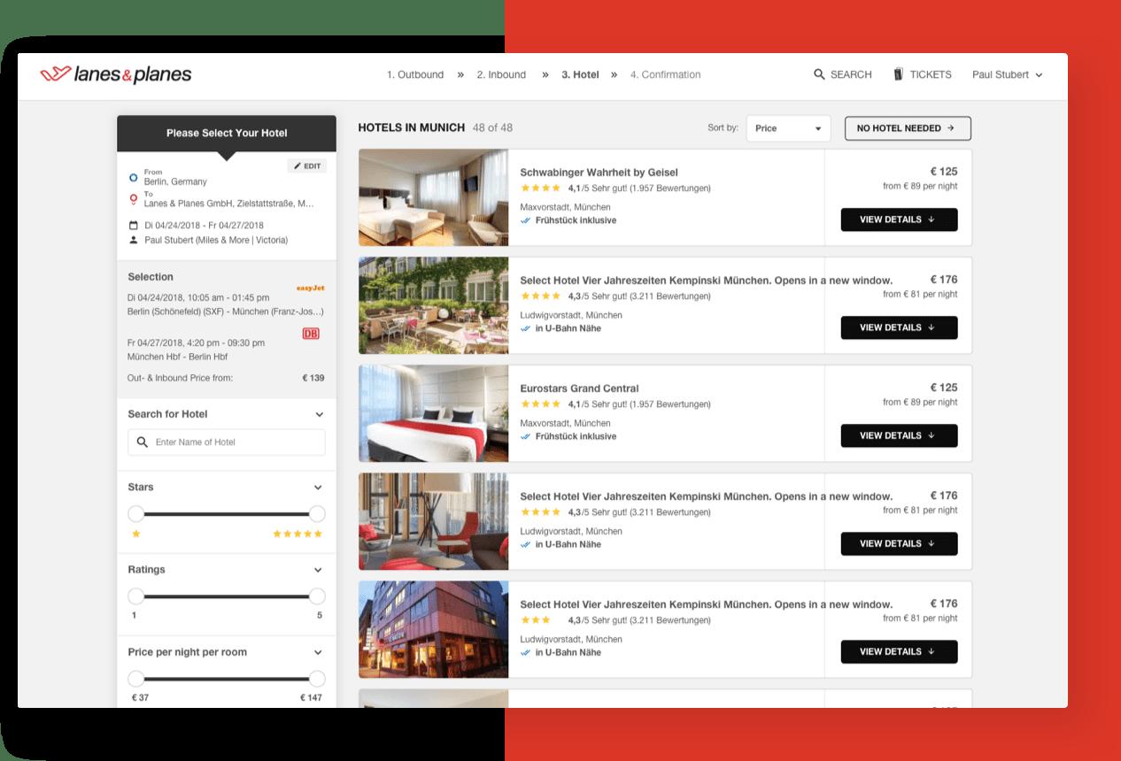 Buchen Sie über 900.000 Hotels mit exklusiven Hotelverfügbarkeiten