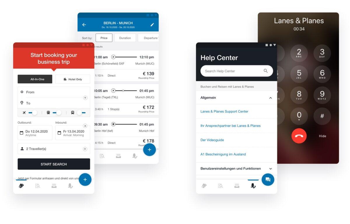 Ein nahtloses Reiseerlebnis mit der Dienstreise-App