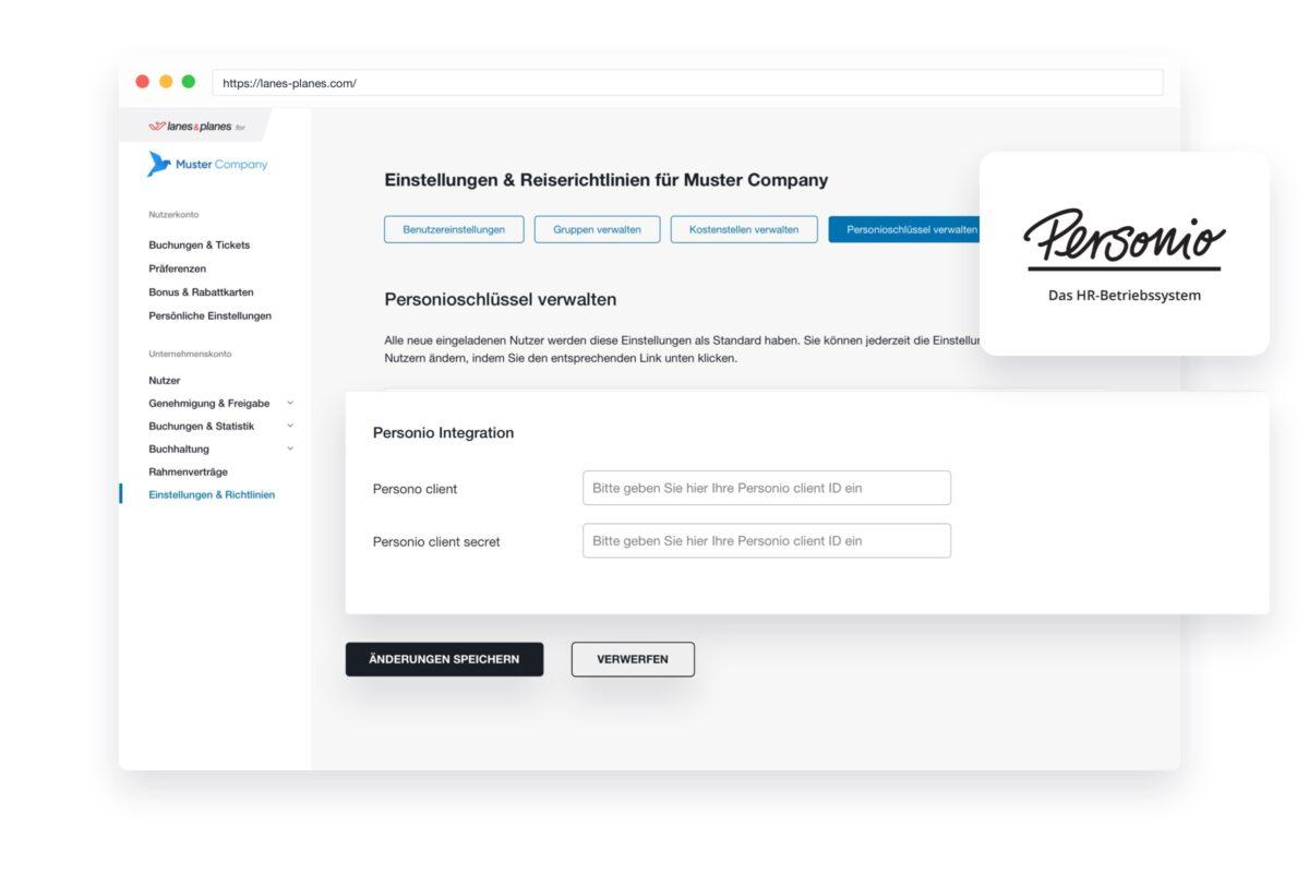 Zentrale Benutzerverwaltung mit der Personio Integration